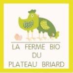 logo ferme plateau briard