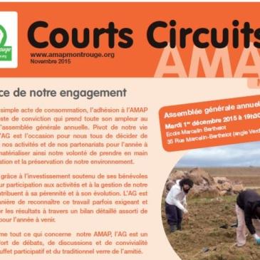 Courts Circuits n°3 – AG, COP21, Forum et Sondages
