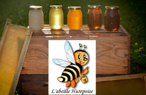 Logo et pots de miel