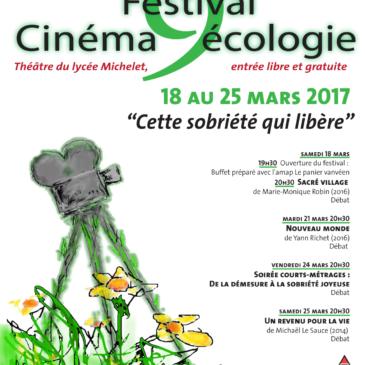 9e Festival Cinéma écologie de Vanves