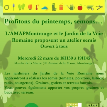 Jardiner@Montrouge : compte rendu réunion 2