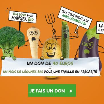 Réseau Cocagne «Tous contre l'injustice alimentaire»