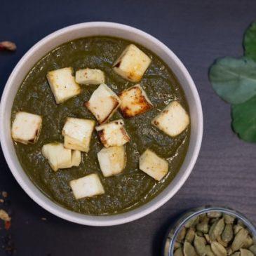 Recette de la semaine : palak paneer ou épinards à l'indienne