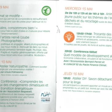 Quinzaine du développement durable à Châtillon