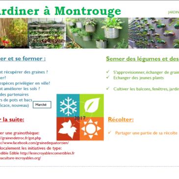 Jardiner à Montrouge