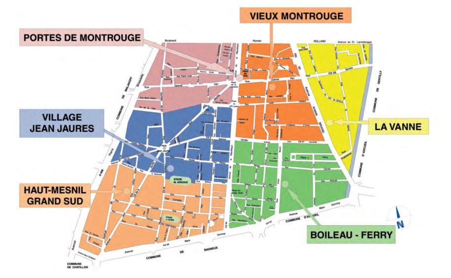 quartiers montrouge