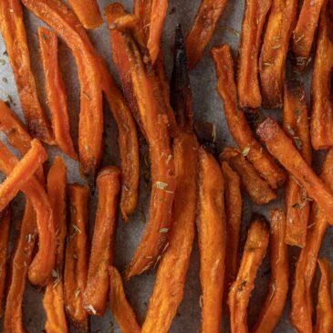 Recette de la semaine : frites de patate douce